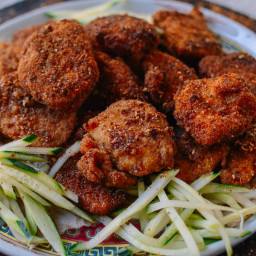 Homemade Chicken Nuggets with Sichuan Spices