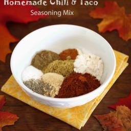 Homemade Chili and Taco Seasoning Mix