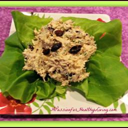 Homemade Chipotle Chicken, Cilantro, Cranberry Salad Wraps….A Gluten Free R