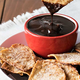 Homemade Cinnamon Tortilla Chips