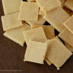 Homemade Crackers :: Gluten Free with Grain Free Option