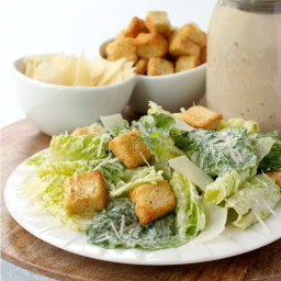 Homemade Creamy Caesar Dressing