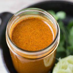 Homemade Enchilada Sauce (gluten free + vegan)