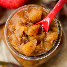Homemade Extra Sweet Applesauce