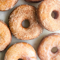 Homemade Fried Donuts (Eggless)