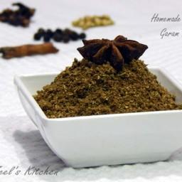 Homemade Garam Masala ( Dal - Shak no masalo )