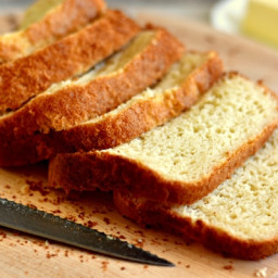 Homemade Gluten-Free Bread {bread machine, dairy-free option}