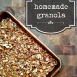 Homemade (Gluten-Free) Granola