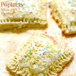 Homemade Gluten-Free Strawberry Poptarts (Allergy-Free, Vegan)