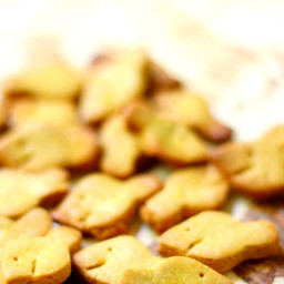 Homemade Gluten-Free + Vegan Goldfish (Allergy-Free, Grain-Free)