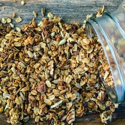 homemade granola: the small farm recipe