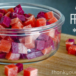 Homemade healthy fruit snacks