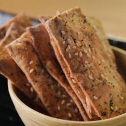Homemade Herbed Crackers