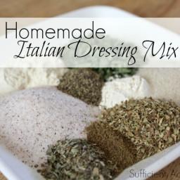 Homemade Italian Dressing Mix