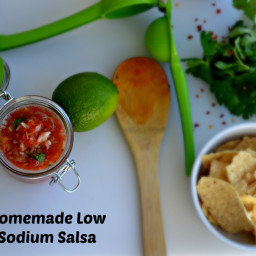 Homemade Low Sodium Salsa