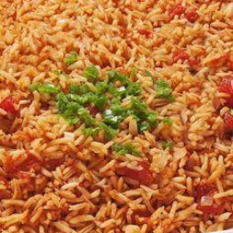 Homemade (Made from Scratch) Spanish Rice-A-Roni