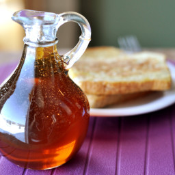 how to add maple syrup to bread recipe