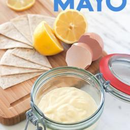 Homemade Mayonnaise (Paleo & Keto)