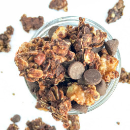 Homemade Mexican Hot Chocolate Granola Recipe
