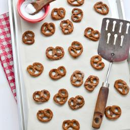 Homemade Mini Pretzels