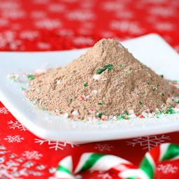 Homemade Mint Hot Chocolate Mix