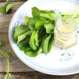 homemade miso dressing