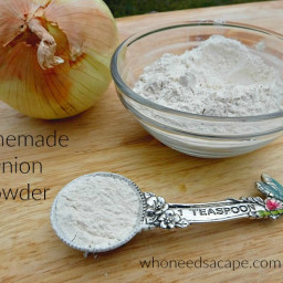 Homemade Onion Powder