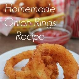 Homemade Onion Rings Recipe