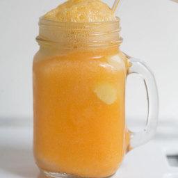 Homemade Orange Sherbet