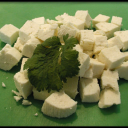 Homemade Paneer (Panir - Indian Cheese)