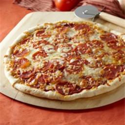 Homemade Pepperoni Pizza
