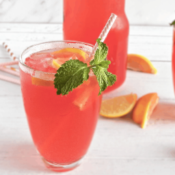 Homemade Pink Lemonade Recipe