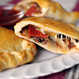 Homemade Pizza Calzones