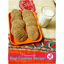 Homemade Ragi Cookies Recipe| Finger Millet Cookie