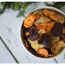 Homemade Root Vegetable Chips (aka Terra© Chips)