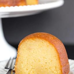 Homemade Rum Cake