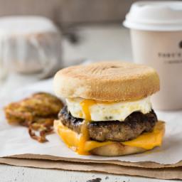 Homemade Sausage and Egg McMuffin