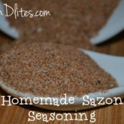 Homemade Sazon Seasoning