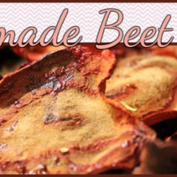 Homemade Sea Salt and Rosemary Beet Chips Recipe