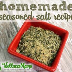 Homemade Seasoned Salt Recipe