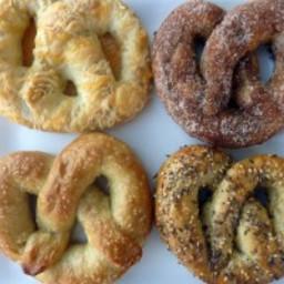 Homemade Soft Pretzels: 4-Ways