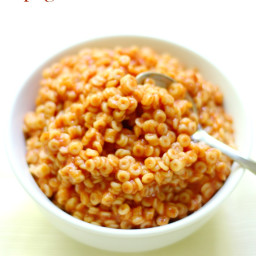 Homemade Spaghetti O's (Allergy-Free, Gluten-Free, Vegan)