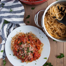 Homemade Spaghetti Sauce with Turkey