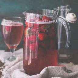 Homemade Strawberry Juice