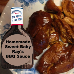 Homemade Sweet Baby Ray's BBQ Sauce