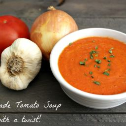 Homemade Tomato Soup Recipe With A Twist