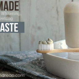 Homemade Toothpaste Recipe | Remineralizing