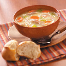 Homemade Turkey Soup Recipe
