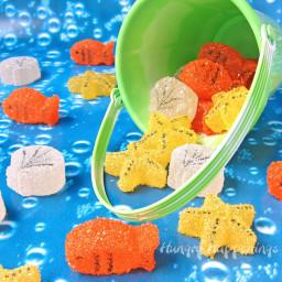 Homemade Under the Sea Gumdrops: Goldfish, Starfish, and Sea Shells