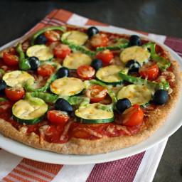 Homemade Vegan Spelt Pizza Crust